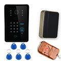 Free Shipping 4G video door phone WiFi IP intercom system two-way intercom and remotely unlock door, global video door phone