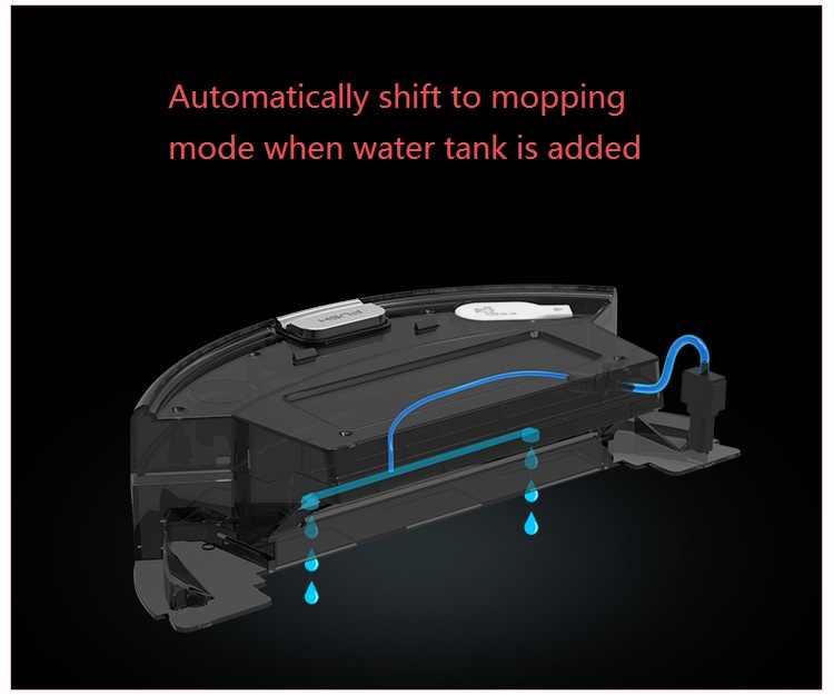 ILIFE Nassen und Trockenen smart roboter-staubsauger Auto-feuchten, plan pfad, auto ändern Electrowall Wand Barriere, Gyroskop navigation