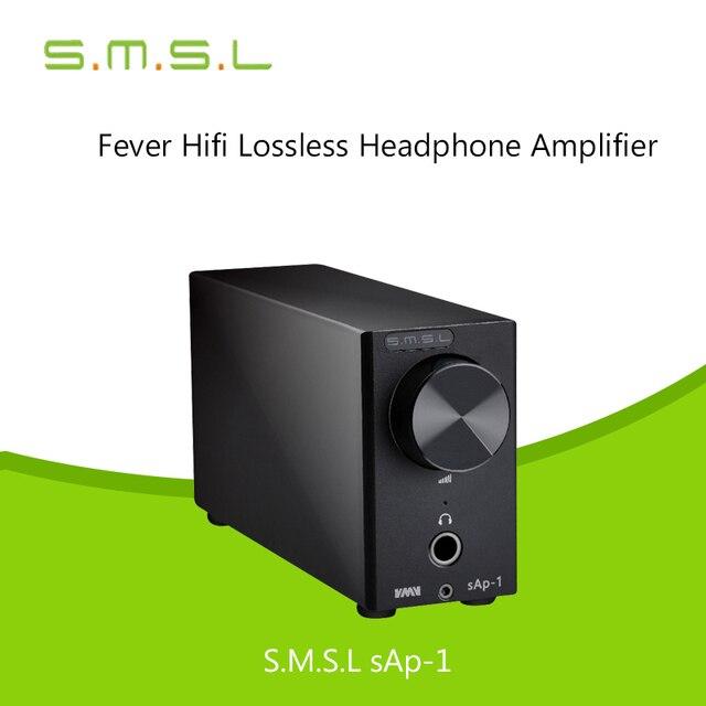 Усилители 2017 Последним SAP-1 SMSL TPA6120A2 Усилитель Для Наушников Лихорадка HIFI Цифровой Аудио Стерео Класса hd650 Наушники amp