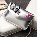 2016 New Spring Summer Small Bag 9 Color Eyes Lip Sequin Bag High Quality Women Messenger Bag HBC71