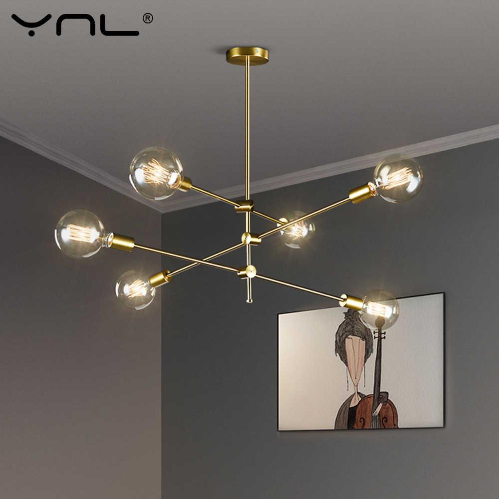 Скандинавские современные подвесные светильники длинная жердь дизайнерские