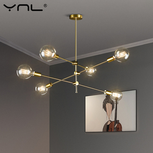 Image 1 - Nordic Modern Pendant Lights Long Pole Designer Pedant Lamps Ceiling Art Decoration Hanging Lamp Bar Dining Kitchen Living Room