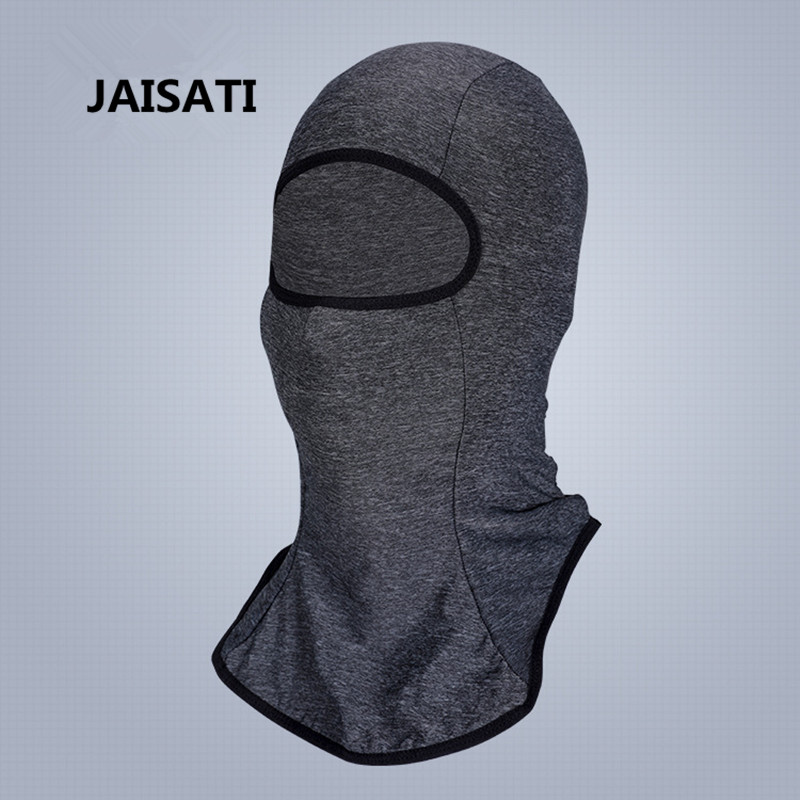 JAISATI Summer ice silk riding sunscreen mask motorcycle sports bike riding anti-mite masks black disposable masks female print summer thin breathable sunscreen medical personality masks page 3