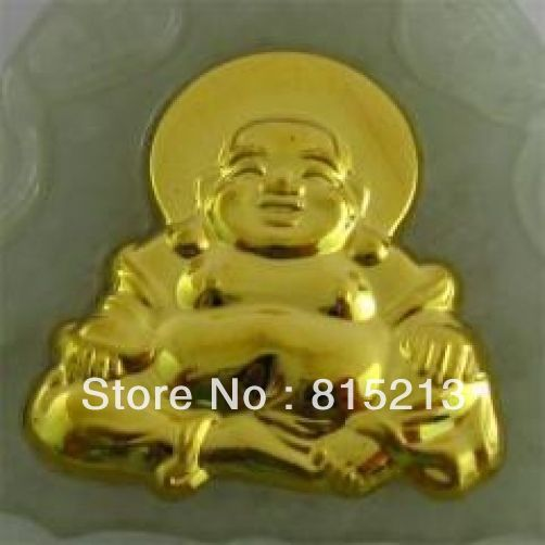 LIVRAISON GRATUITE >>>@@> N591 Naturel Jade Agate 24 k Or Zodiaque Bouddha Collier