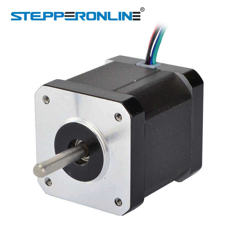 0.9deg Nema 17 Stepper Motor 2A 42x48mm 46Ncm/65oz.in 4-lead Nema17 Stepper 42 Motor for DIY 3D Printer CNC Robot top selling 5pcs nema17 stepper motors 1 8 deg high torque 59ncm 84oz in 2a 42x42x48mm stepping motor for 3d printer robot cnc