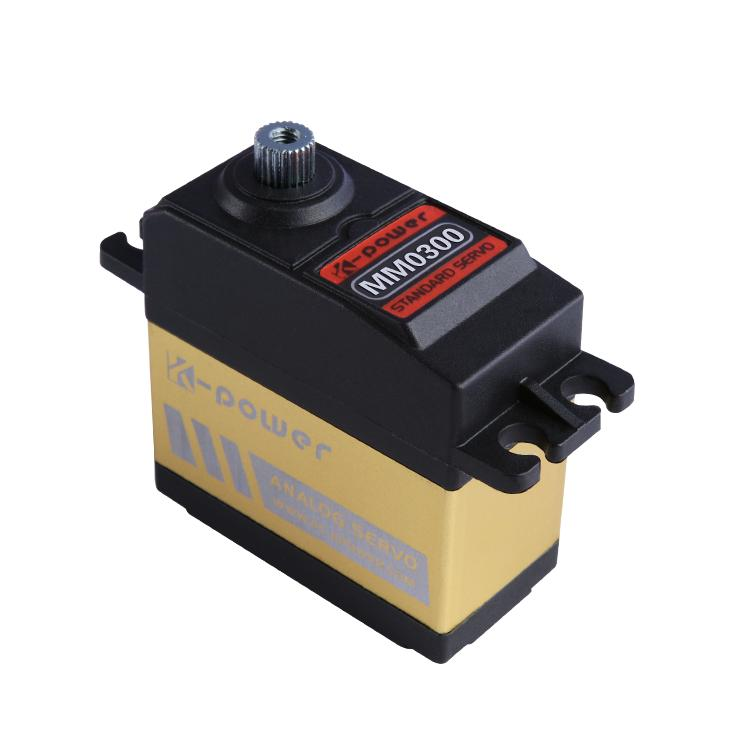 K-power MM0300 4KG Torque Analog Metal Gear waterproof Servo for RC Car/RC Hobby/RC robot/airplane/boat/Retract landing