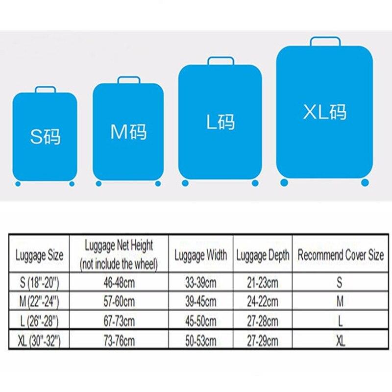 Custodia bagaglio da viaggio Custodia protettiva trolley da viaggio - Organizzazione e deposito in casa - Fotografia 2