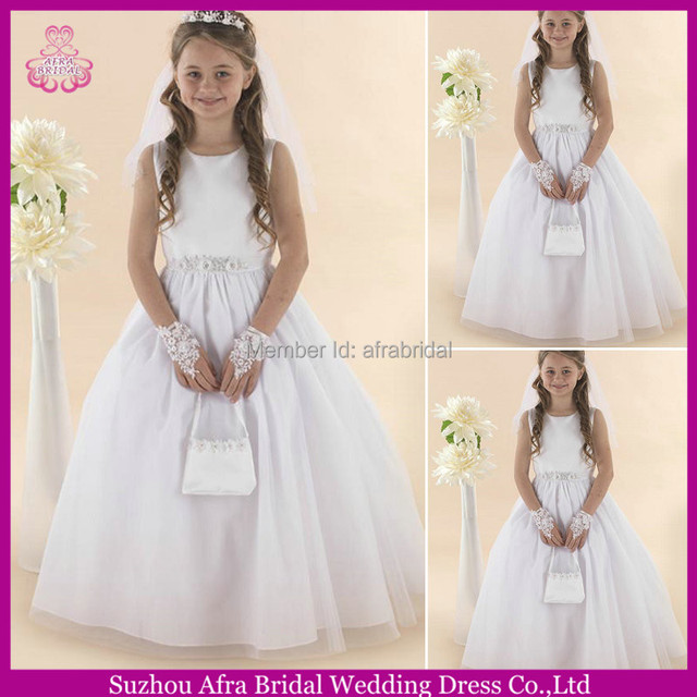 SD1482 kids christmas party dresses cheap flower girl dress sewing ...