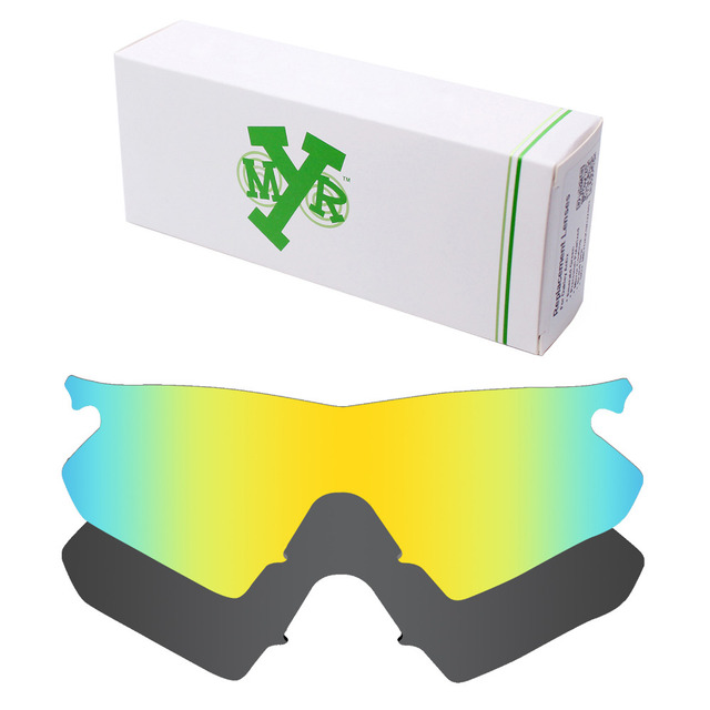2 Pieces Mryok POLARIZED Replacement Lenses for Oakley M Frame ...