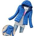 Hot Sale Women Cotton Jacket Hooded Women Coat Plus Size Thicken Winter Short Cotton Padded Outwear Casual Slim Women Jackets