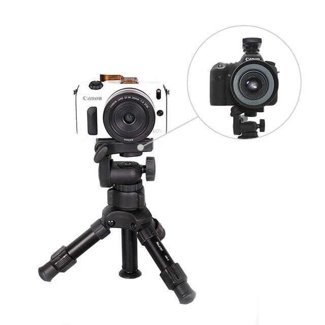 XILETU XB-2 Mini Tabletop Tripod Flexible Portable For DSLR Nikon Digital Camera with Three Dimensional Panoramic Tripod Head 6