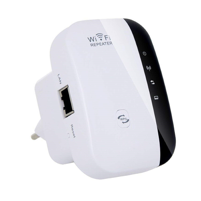 Wireless Wifi Repeater 802.11N/B/G Network Router 300Mbps Range Expander Signal Antennas Booster Extend for Enterprise