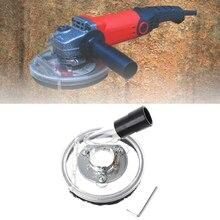 En iyi toz örtüsü kiti kuru taşlama kapağı aracı açı el değirmeni şeffaf 80 125mm Drop Shipping destek