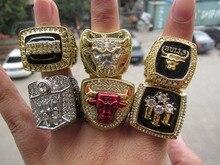 1991 1992 1993 1996 1997 1998 Весь Чемпионат Баскетбол Быков Чемпионата Реплика Кольцо для Любителей 6 кольца вместе