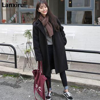 abrigo mujeres moda bolsillos invierno mujer chaquetas Casual Las de gtx7Fwgz