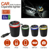 Multi Function Car Power Adapter With Dual USB Ports Car Charger 3 1A 2 Socket Cigarette