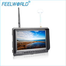 PVR821 8 Inch FPV Monitor with Built-in Battery Dual 5.8G 32CH Diversity Receiver and DVR Feelworld 800×480 Wireless Monitors