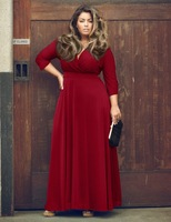 European Sexy Fashion Solid Color Fat MM Even Clothes Longuette Party Full Dress Skirt Ebay Amazon