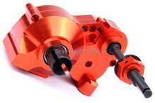 CNC Gear Box Assembly Set CNC Heavy Duty metal complete differential gear box for HPI Rovan