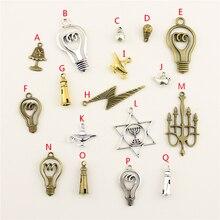 20Pcs Wholesale Bulk Diy Jewelry Accessories Bulb Hand Made Charms Charm Women Backless Dress HK145