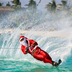 Image 2 - Cuerdas de esquí de agua Premium de alta resistencia con mango flotante 1 sección 72ft agarre suave herramientas prácticas duraderas al aire libre