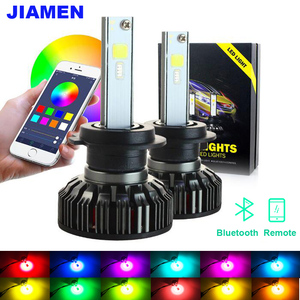 RGB LED Car Headlight Bulbs Li