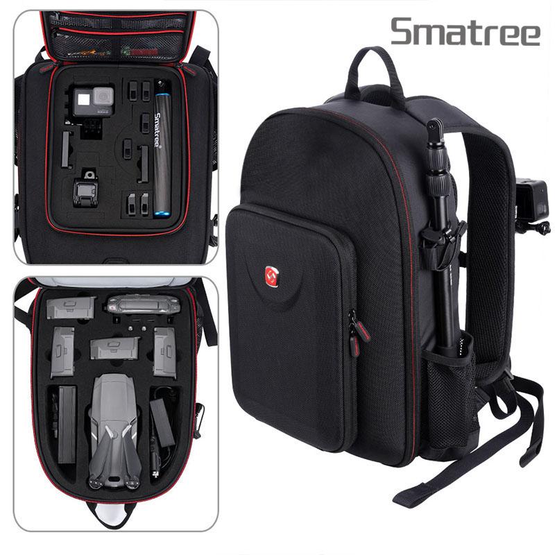 Smatree Backpack Compatible for DJI Mavic 2 Pro Mavic 2 Zoom GoPro Hero 2018 Hero 7
