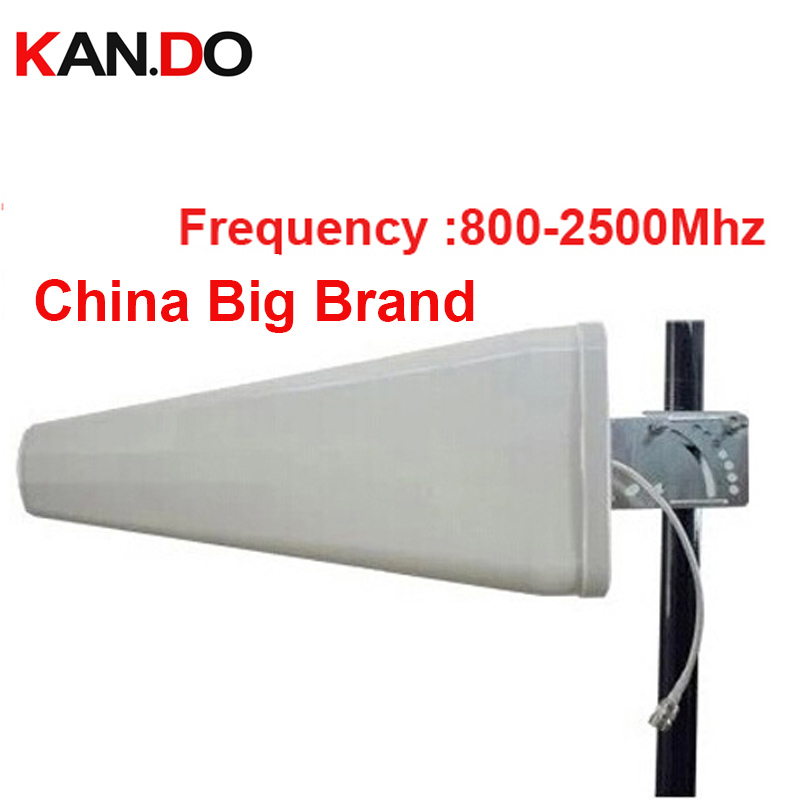 For Ru LDP Antenna 11dbi Gain 806-2500Mhz LDP Panel Antenna 3g Booster Logarithm Directional Antenna Wifi Antenna