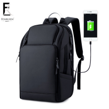 FRN Multifunction USB Charging Men 17 inch Laptop Backpack Waterproof High Capacity Mochila Anti theft Travel Bag Male