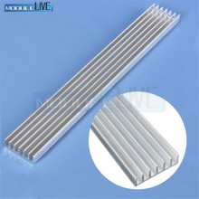 Silver-White Heat Sink LED 150x20x6mm Heat Sink Aluminum Cooling Fin 150x20x6 150*20*6(China)