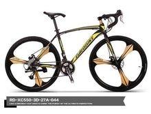 700C * 49 cm marco de acero de la bici de la bicicleta ciclismo Mito de disco de la rueda freno de bicicleta de carretera 21 velocidad bicicleta de carreras no bicicleta plegable 160-185 CM