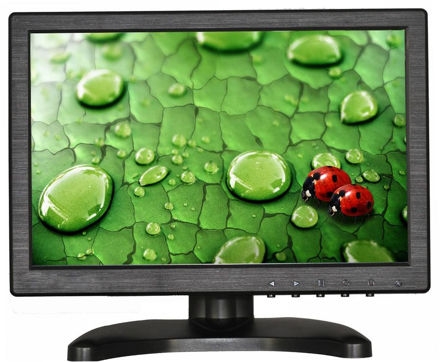 10.1 inch LCD monitor display HD multifunctional monitor IPS monitor with VGA/HDMI/AV/BNC/USB