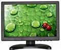 10.1 polegada de visualização do monitor LCD HD IPS do monitor multifuncional monitor com VGA/HDMI/AV/BNC/USB