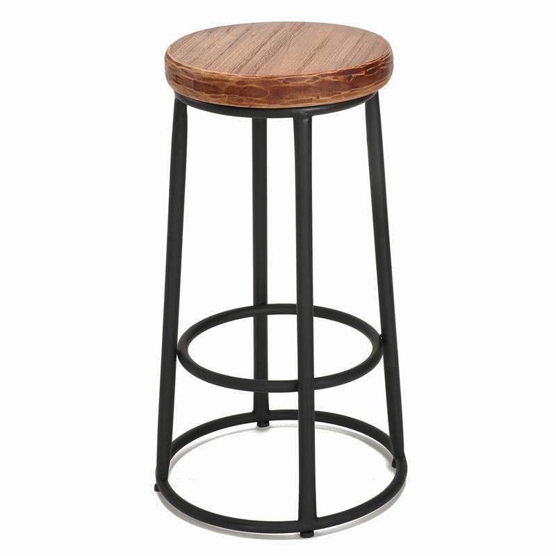Prime Vintage Metal Bar Chair Wood Metal Bar Stool Cadeira Bar Caraccident5 Cool Chair Designs And Ideas Caraccident5Info