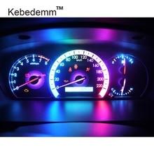Kebedemm Горячее предложение 10 шт. красочные B8.5D 509T B8.5 5050 Led 1 SMD T5 лампа Автомобильный датчик скорости тире лампа приборной панели прибор светильник 12 В