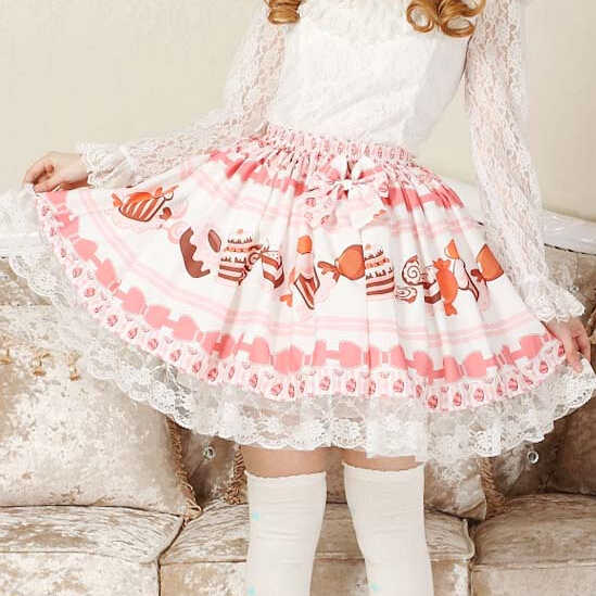 aceb1db17c85c Detail Feedback Questions about Adomoe Baby Pink Candy Skirt Cute ...