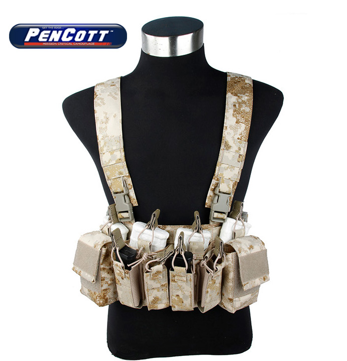 PenCott Sandstorm D3 CRX Chest Rig Desert Camouflage Military Tactical Gear+Free shipping(STG050968) аксессуар carax tpms crx 1003