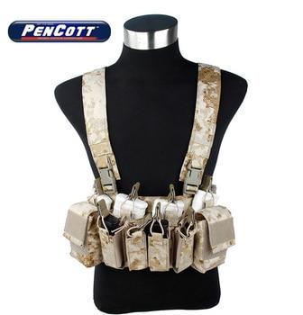 TMC PenCott Sandstorm D3 CRX Chest Rig Desert Camouflage Military Tactical Gear(SKU050968)