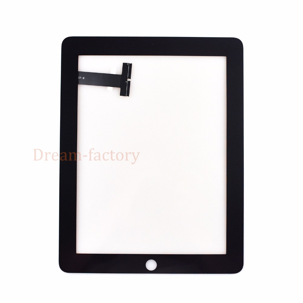New For iPad 1 1st Gen A1337 A1219 Touch Screen Digitizer Sensor Glass Replacement pair of trendy filigree rose gold rhinestone leaf fringe earrings for women
