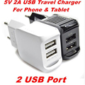 5V 1.5A Dual usb charger charging EU Plug USB Charger Travel Power for iPhone  for Galaxy S3 S4 Note3 N9000 note 4 S6