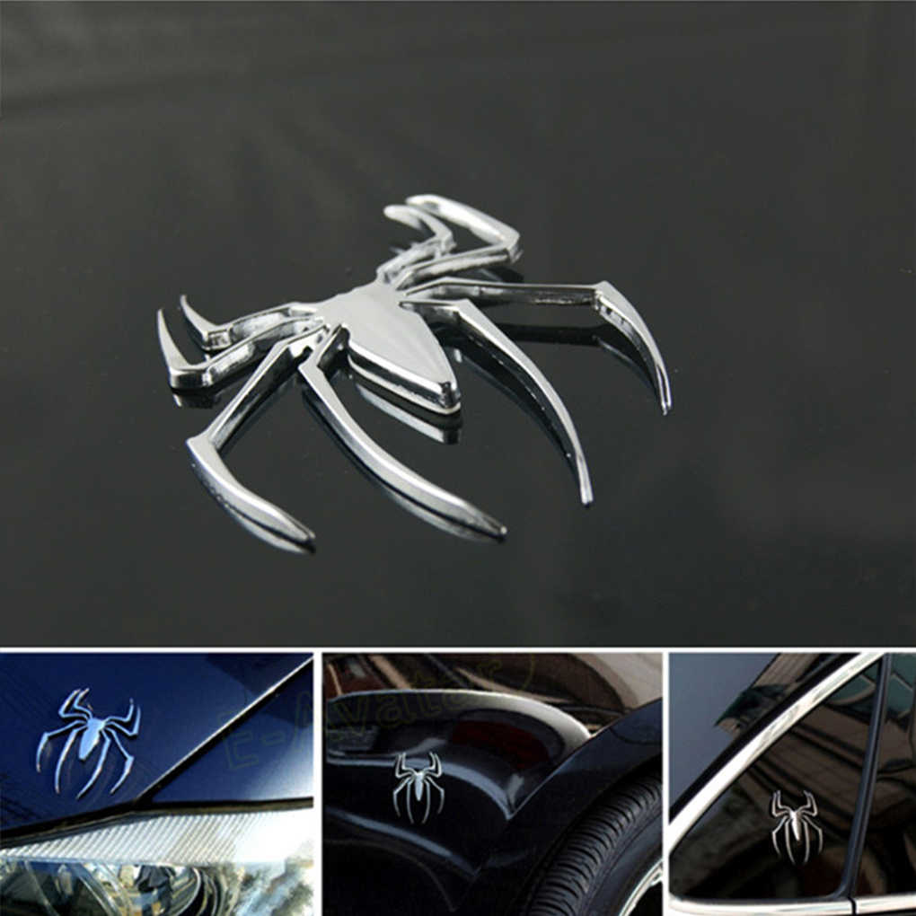 3D Auto Styling Accessoires Sticker Paster Chroom Spider Badge Emblem Logo Motorcycle Decal Decoratie Hot Koop