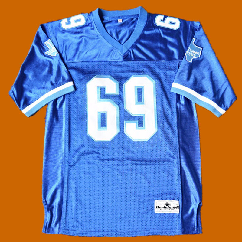 BILLY BOB #69 VARSITY BLUES MOVIE FOOTBALL JERSEY STATE CHAMPS 2018 NEW