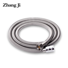 Zhangji High Quality Stainless Steel Shower hose High Density Anti-Crack Bathroom Flexibel Water Pipe Common Plumbing Hoses