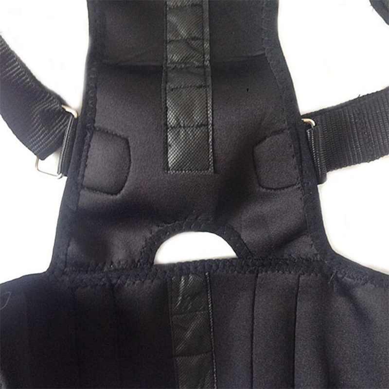 Manyetik sırt postür düzeltici erkekler kadınlar kifoz ortez ayarlanabilir geri Brace destek kemeri düzeltmek omuz duruş kemer