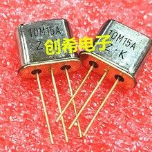 20 шт. 50 шт. 10,7 МГц Встроенный Кристальный фильтр 10M15A 3 дБ+-7,5 кГц кварцевый генератор HC-49T 10,7 м