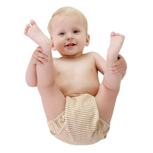 New Cotton Baby Boy Girl Clothes Diaper Children Reusable Underwear Breathable Cotton Training Pants Nappies Pocket Diapers