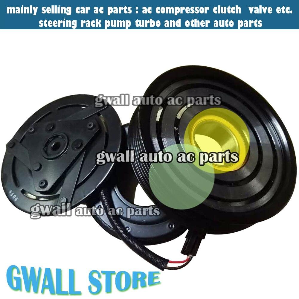 Brand new ac compressor clutch for car nissan xtrail x trail t31 2 5l 6grooves