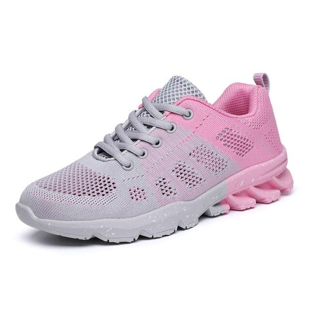 3d0a3caabe5 Zapatillas deportivas para correr para adultos transpirables de otoño y  verano