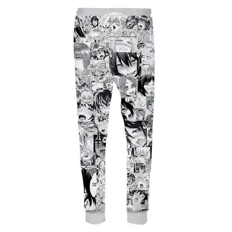 Women//Men Sports Pants Dragon Ball Z//Super Front Printed Trousers with Drawstring Baggy Running Pants