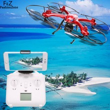 MJX X102H RC Quadcopter Drone EU Plug with C4018 720P Aerial Camera 2.4GHz 4CH 6-Axis Gyro FPV With LED Night Lights